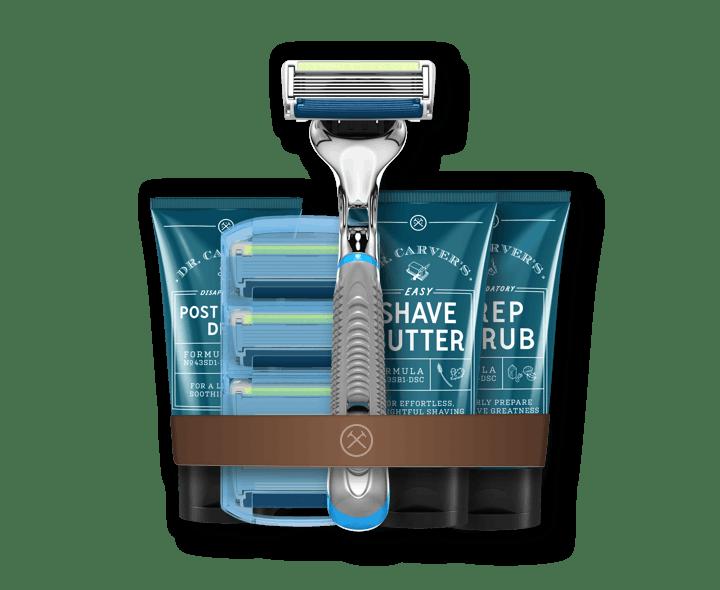 The Ultimate Shave Starter Set Dollar Shave Club